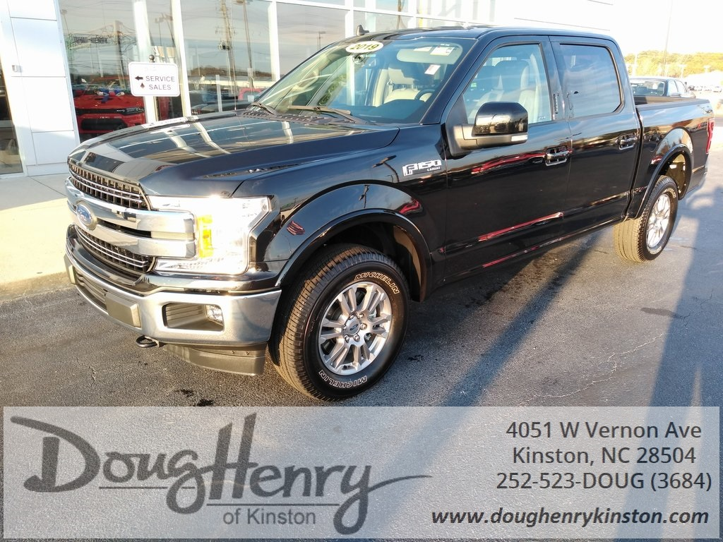 Doug Henry Kinston >> Pre Owned 2019 Ford F 150 Lariat 4wd