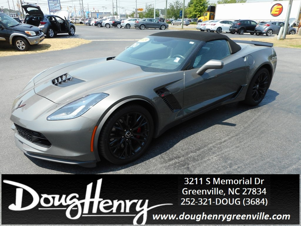 Doug Henry Greenville Nc >> Pre Owned 2015 Chevrolet Corvette Z06 2d Convertible In Kinston