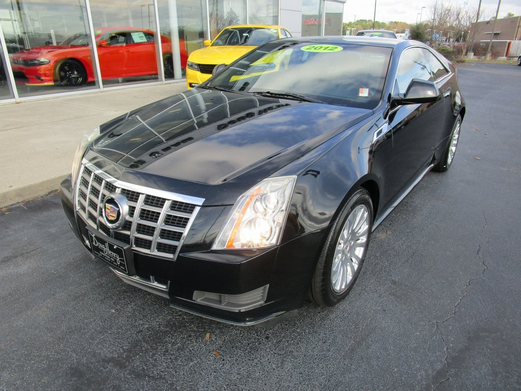 Pre Owned 2012 Cadillac Cts Base 2d Coupe In Kinston Kr026a Doug