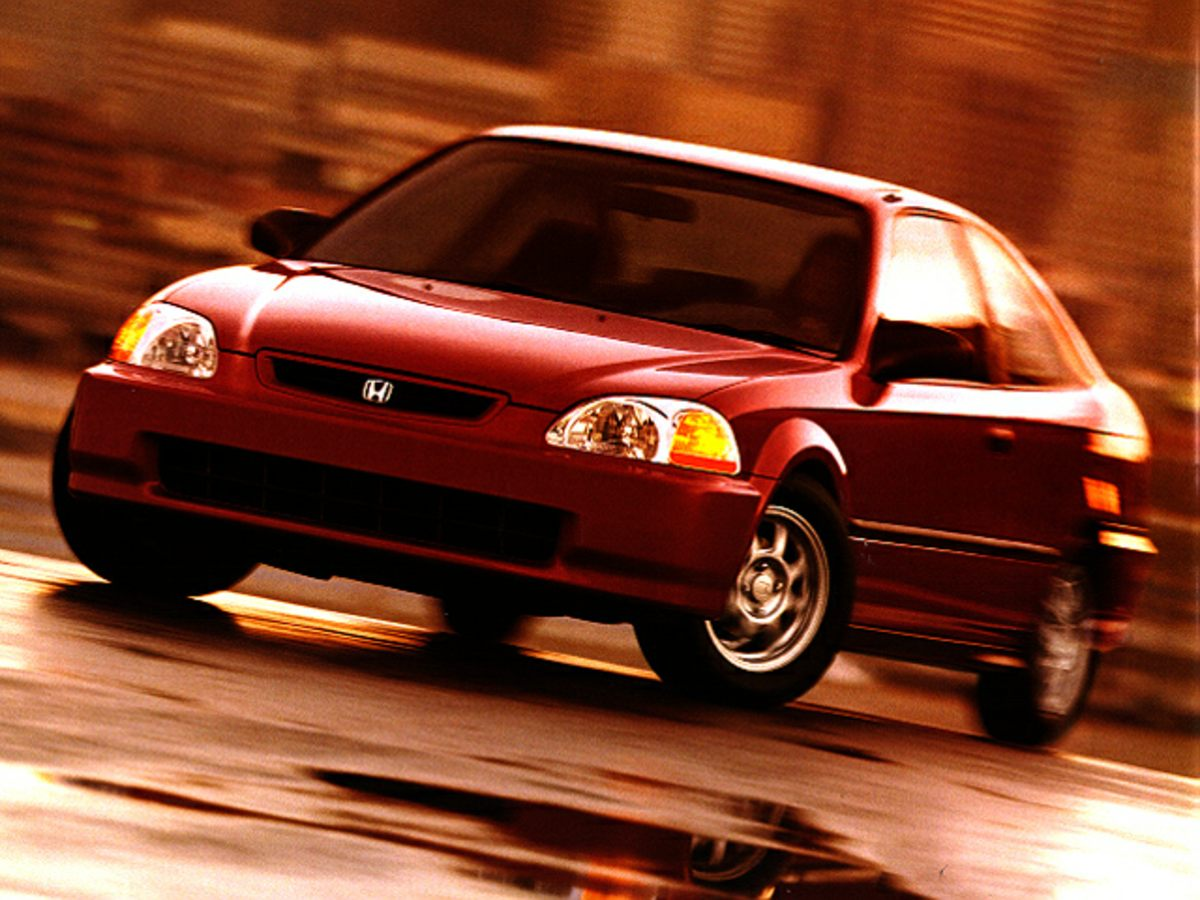 1997 Honda Civic Ex Coupe 2d
