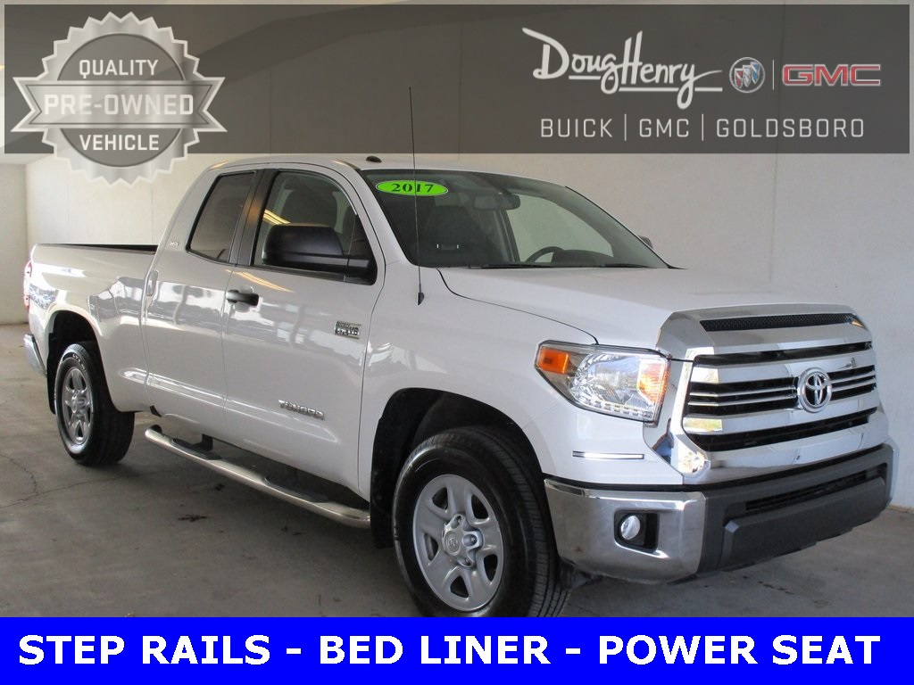 pre-owned 2017 toyota tundra sr5 4d double cab in kinston #g6433a