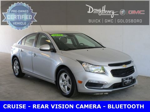 Pre-Owned 2016 Chevrolet Cruze Limited 1LT